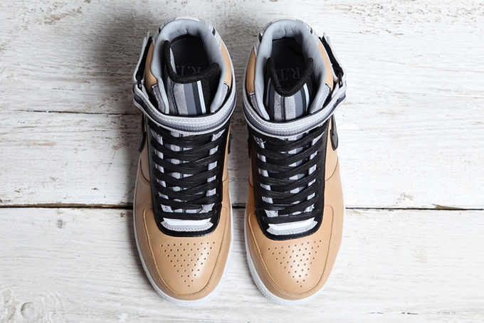 innovative design 16733 05d5e ... Air Force 1 High ( 320), Mid ( 260), and Low ( 230). Look for the final  R.T. x Nike AF1 collection to drop on Nike.com, NikeLab stores, ...