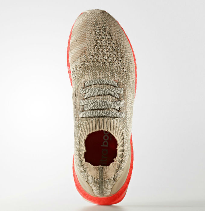 Adidas Ultra Boost Uncaged Tan/Solar Red Top S82064