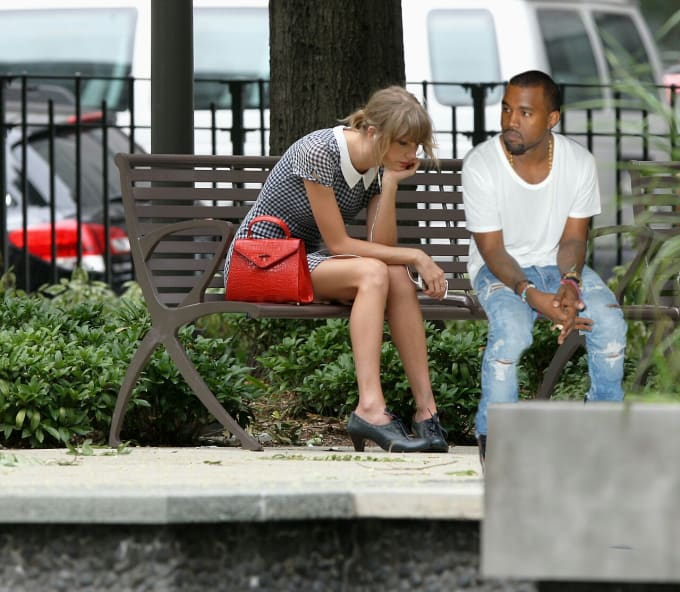 Sad Taylor & Kanye