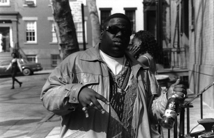 Biggie and St. Ides, 1995