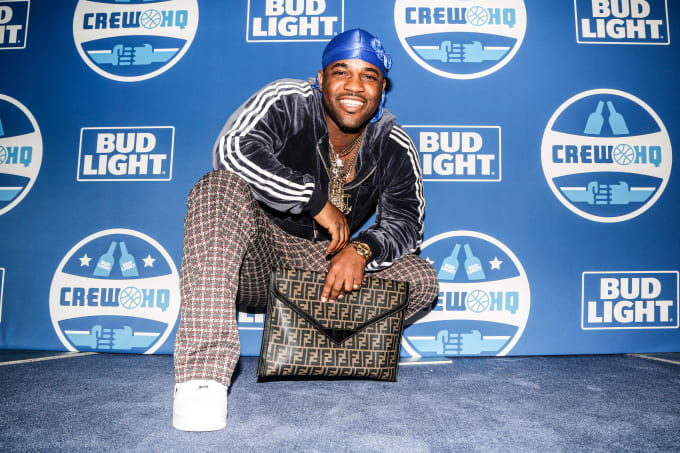 A$AP Ferg at the Bud Light Crew HQ