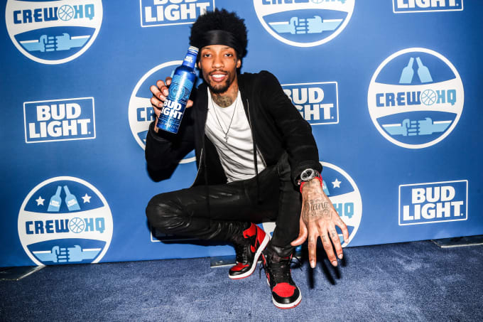 Sonny Digital at the Bud Light Crew HQ