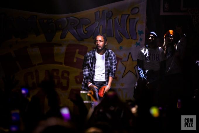 Kendrick Lamar at Yams Day