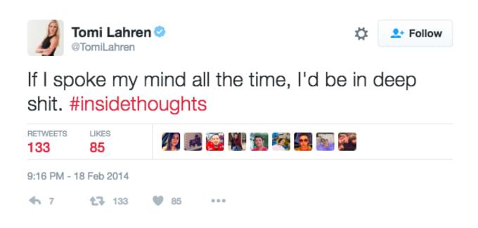 Tomi Lahren Old Tweets