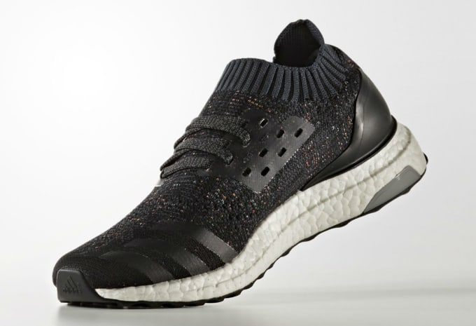 df964ccba Adidas Ultra Boost Uncaged Black Multicolor Speckle Release Date Medial  BA9796