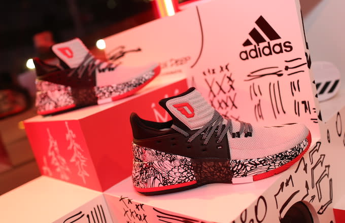 adidas Opens a Pop-Up in Portland for New Dame 3 Colorways. January 2017.