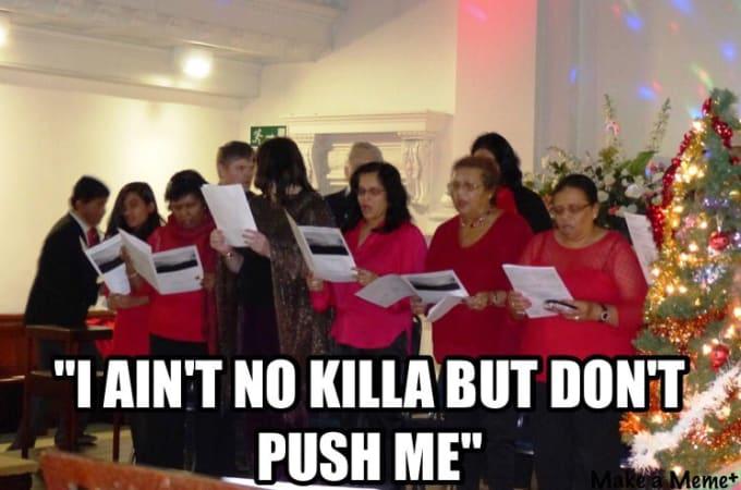 Christmas Carol Service Accidentally Prints 2Pac's