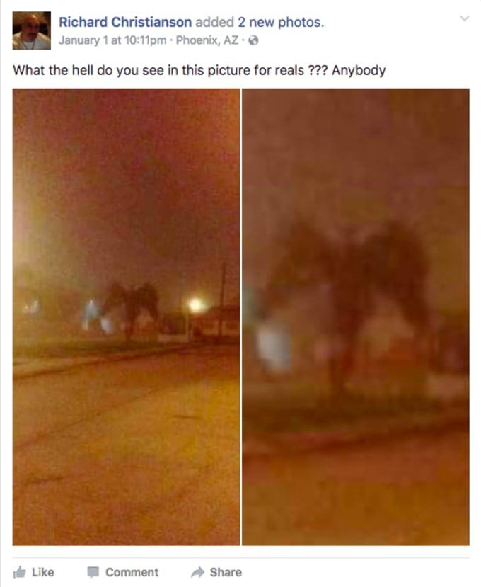 A demon on Facebook?