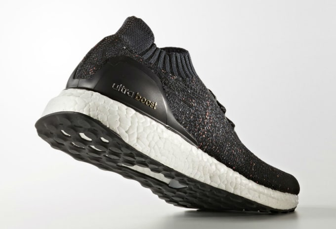 19f770274 Adidas Ultra Boost Uncaged Black Multicolor Speckle Release Date Lateral  BA9796