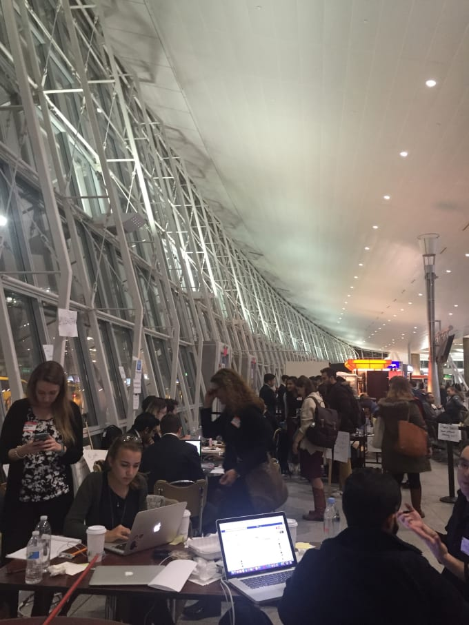 volunteer translators and volunteers at jfk