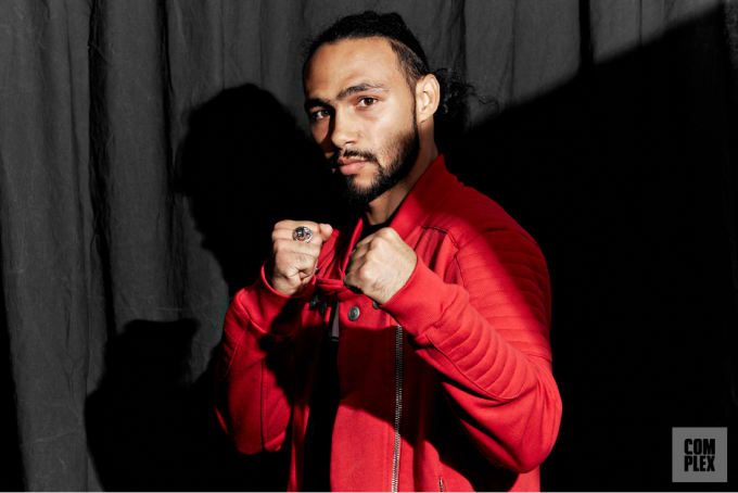 Keith Thurman Fists Up 2017