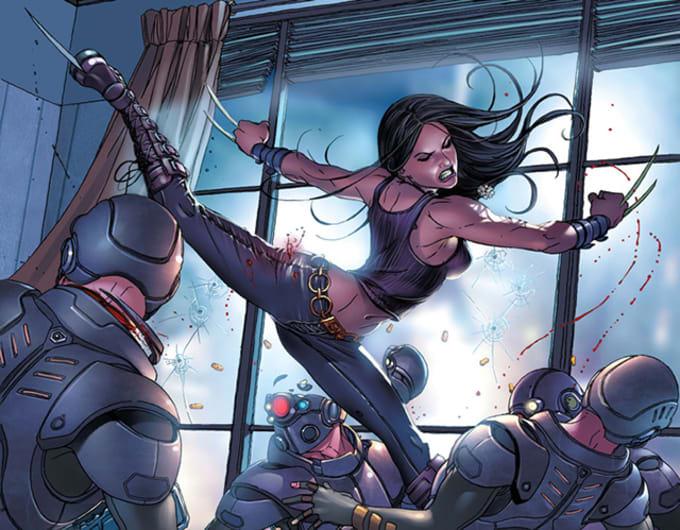 X-23, Fight