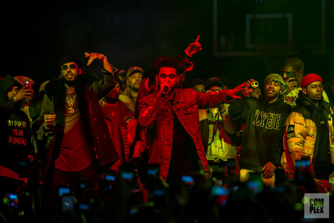 The Weeknd at Yams Day
