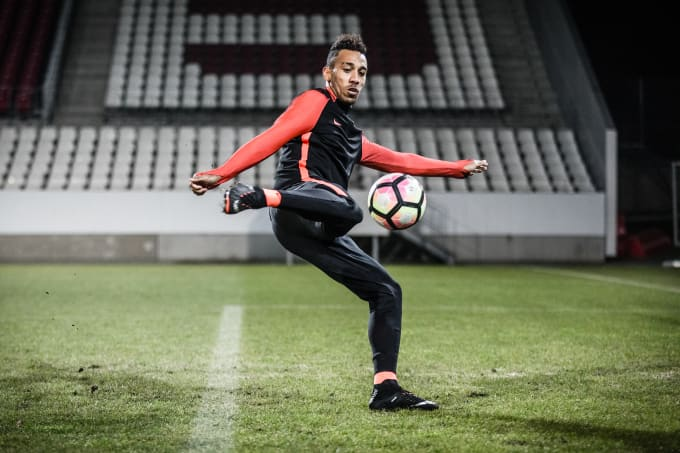 1c0fa26c558c Nike Football Unveils Hypervenom 3  Strike Night  Boots with Pierre ...