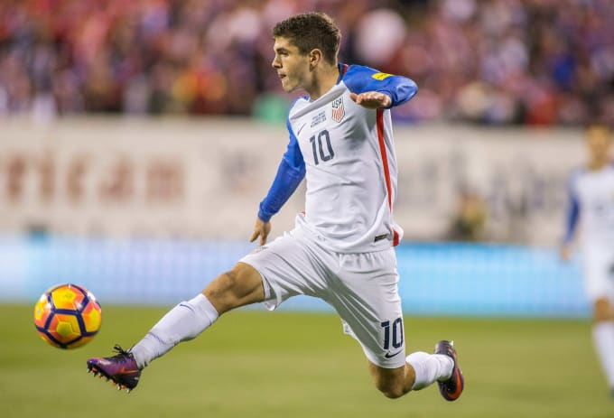 Christian Pulisic USMNT Mexico 2016