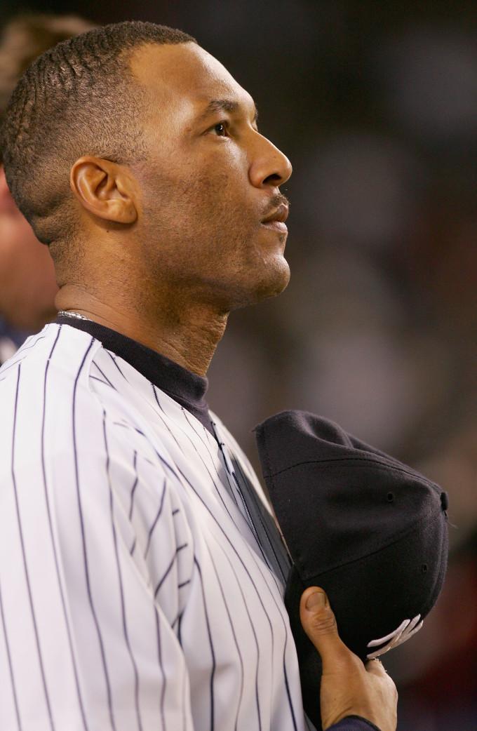 Gary Sheffield Vertical Anthem Yankees 2004