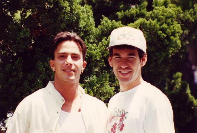 Gregg and Doug on Phat Beach set