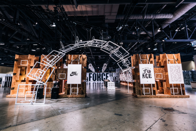 Nike ComplexCon Air Force 1 Booth