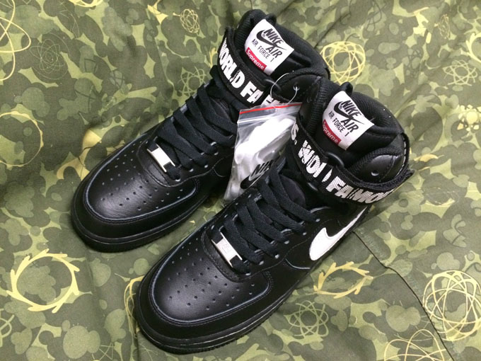 Supreme, Nike Air Force 1 High pictures | Complex
