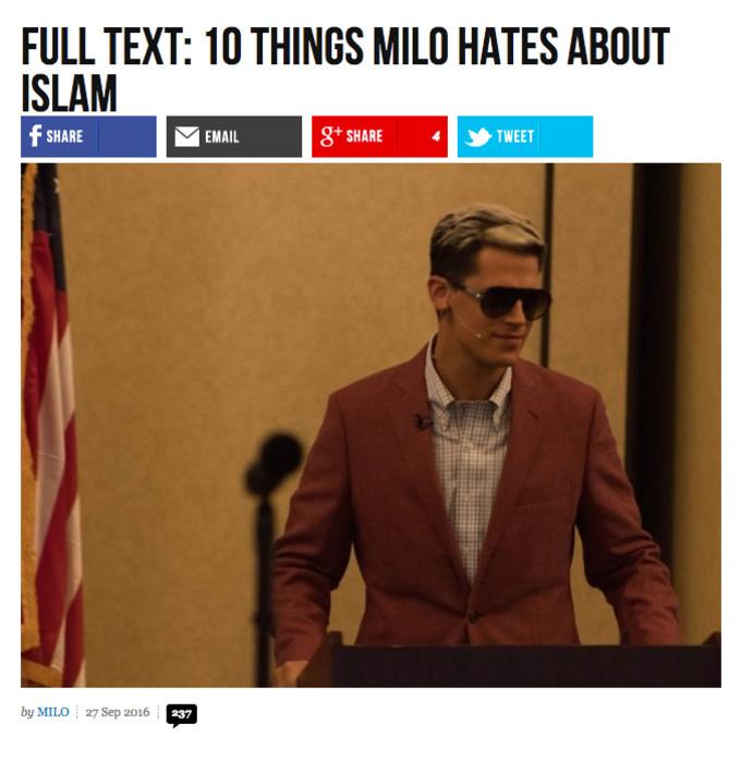Breitbart Headline 3