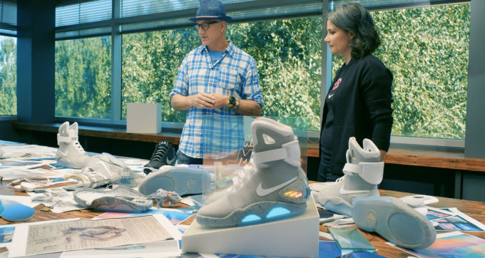 Tinker Hatfield and Tiffany Beers Nike Mag Fiction to Fact