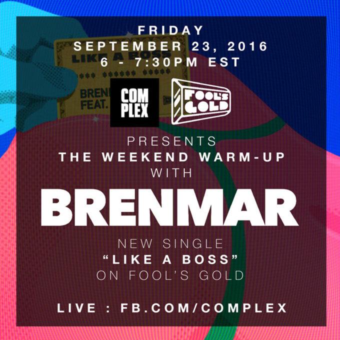 Brenmar Complex Facebook Live Flyer
