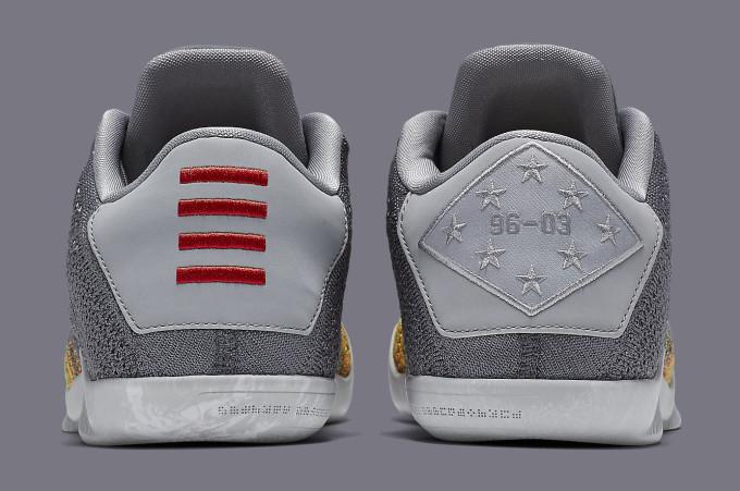 Nike Kobe 11 Master of Innovation 822675-037 Heel