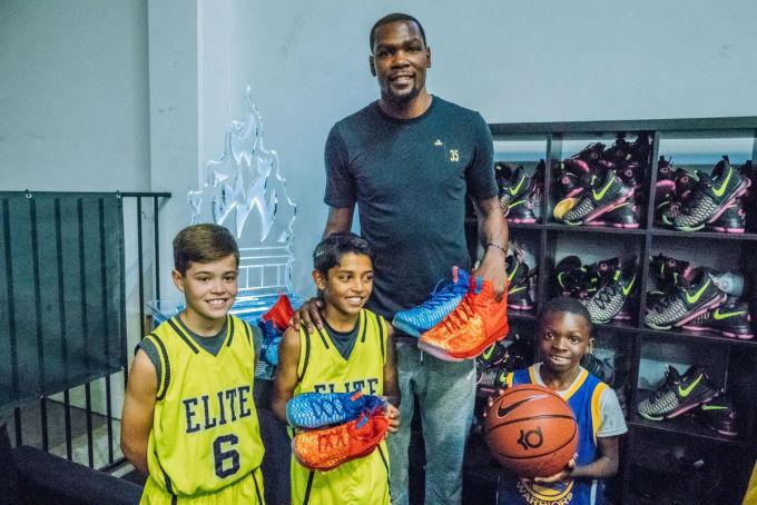 Nike KD 9 Fire & Ice Kids