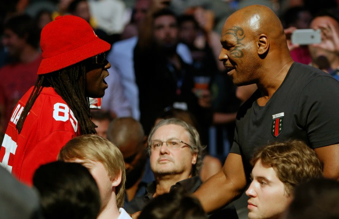 Mike Tyson at UFC 202.