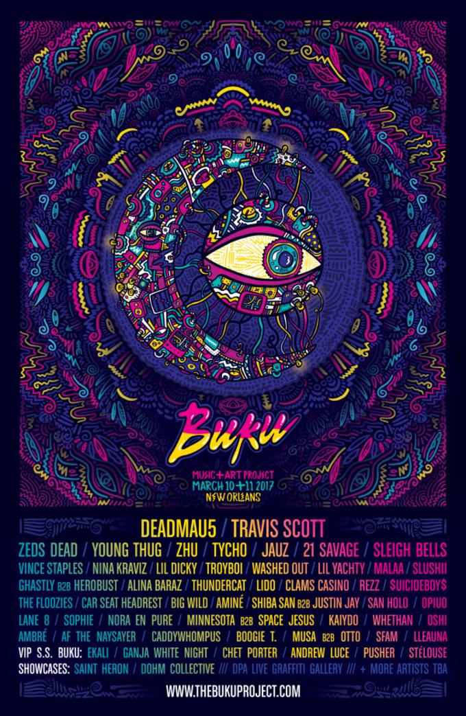 BUKU Music + Art Project Festival
