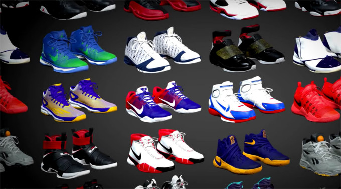 b48222882fd9 NBA 2K17 Sneaker Collection