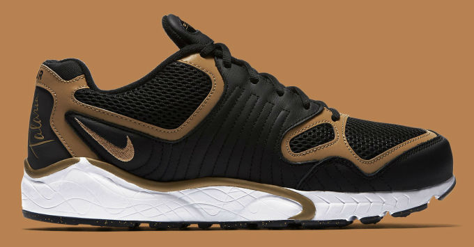 Nike Air Zoom Talaria Black/Gold Side