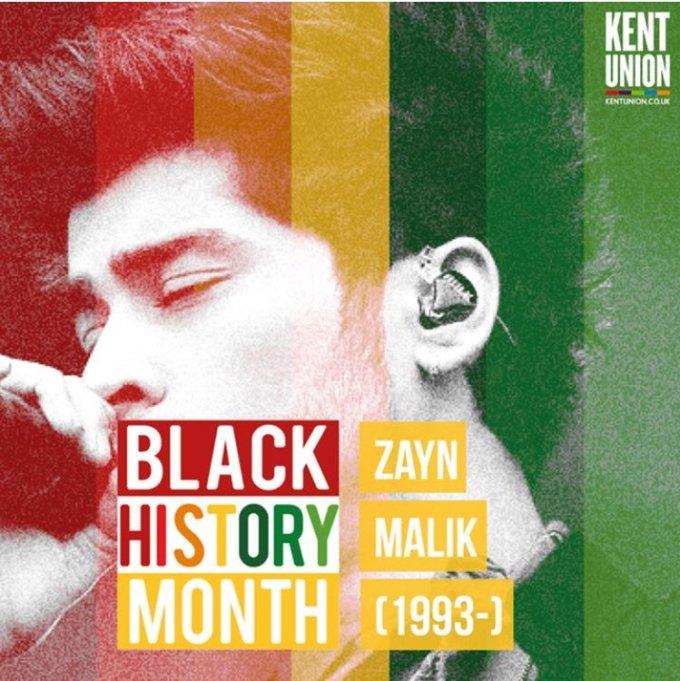Zayn BHM poster
