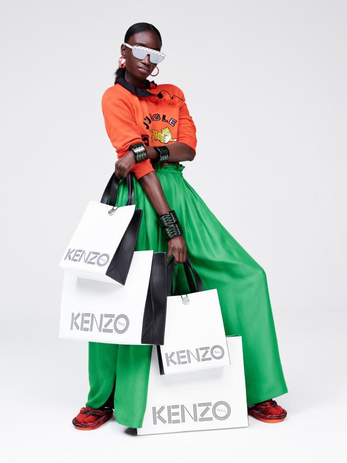 H&M x Kenzo Lookbook