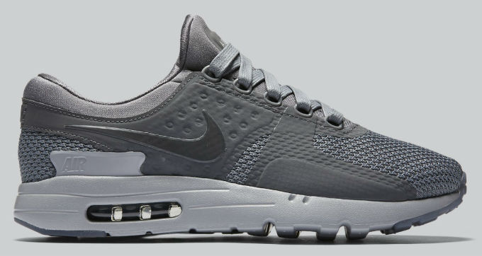 competitive price dae76 54b09 Nike Air Max Zero Cool Grey Side 789695-003