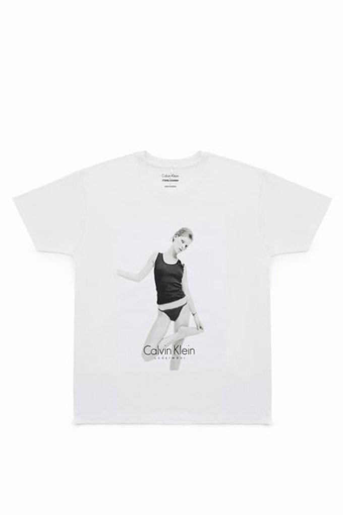 Calvin Klein x Opening Ceremony Kate Moss Collection White Tee