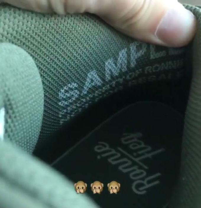 Ronnie Fieg x Nike Air Max Uptempo 97 Green Insole