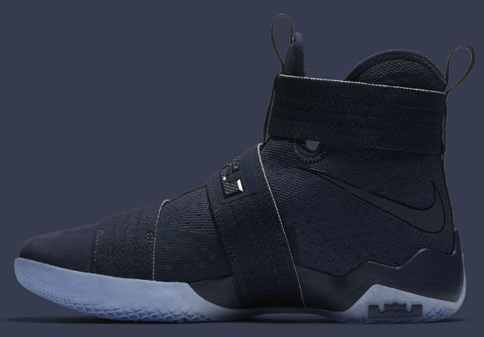superior quality 32525 76f19 Nike LeBron Soldier 10 Midnight Navy Release Date 844378-444 ...