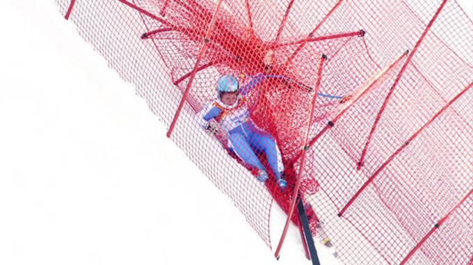Olympics: Alpine Skiing-Ladies' Training