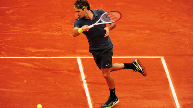 French Open outfit Roger Federer