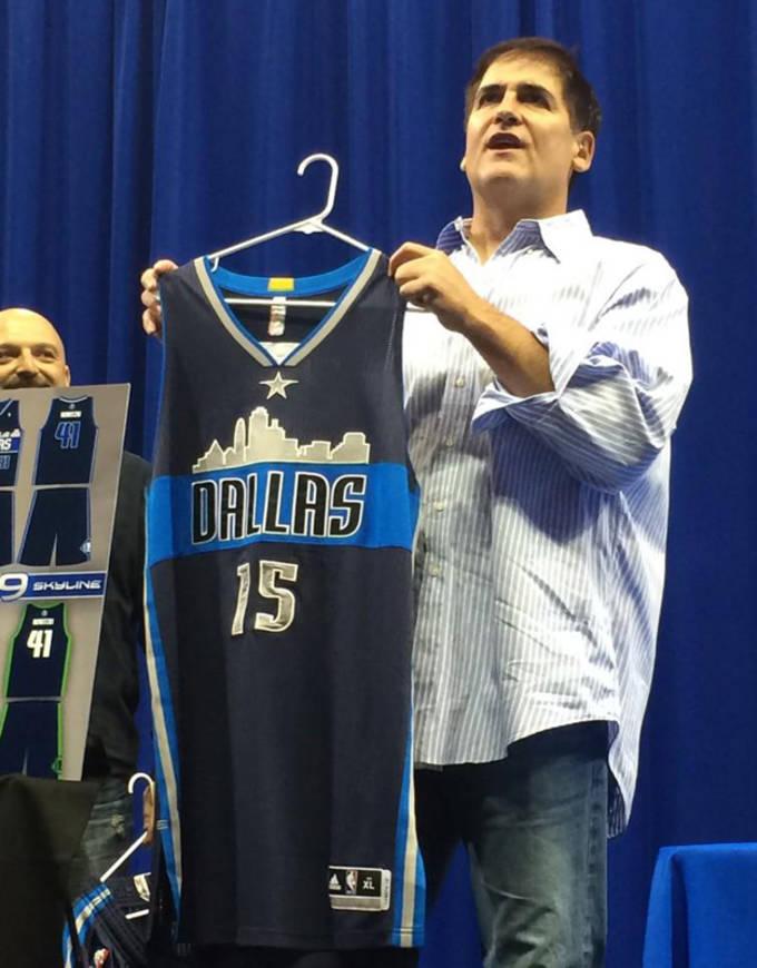 size 40 36b81 84f3d Dallas Mavericks Unveil Fan Designed Uniforms For 2015-16 ...