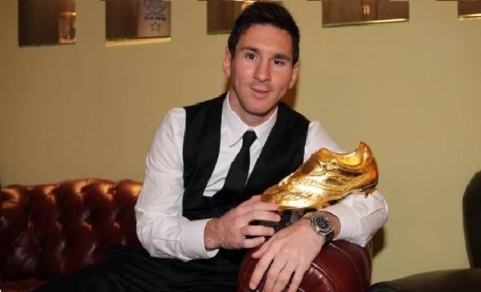 on sale 8b113 344e5 Lionel Messi Golden Boot