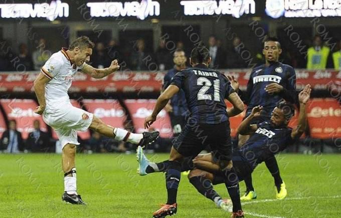 Weekend in Soccer - Totti