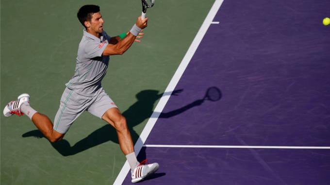 Novak Djokovic - adidas Barricade 7