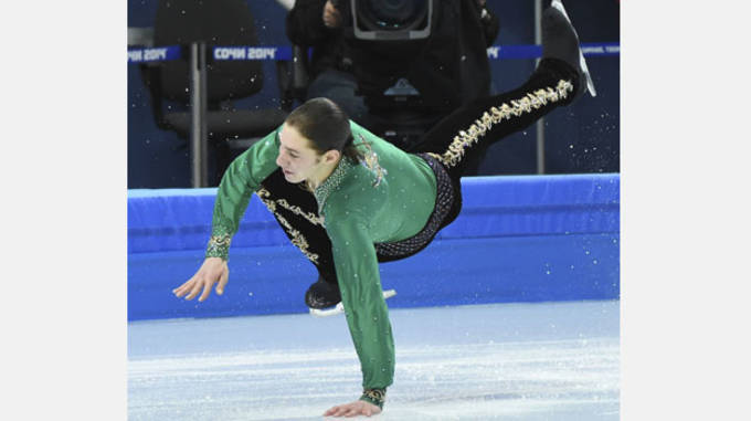 Olympics: Figure Skating-Team Men Free Skating