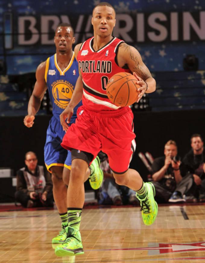 Lillard 2012 Rising Stars