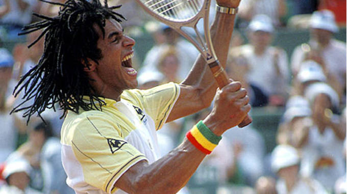 French Open outfit Yannick Noah