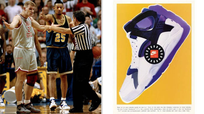 Juwan Howard Nike Air Flight Huarache