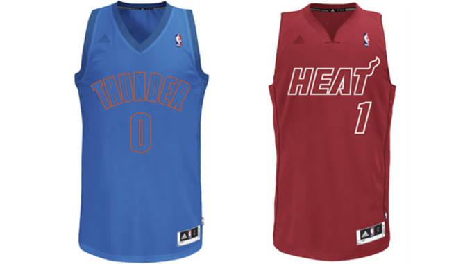 2012 NBA Christmas Jerseys