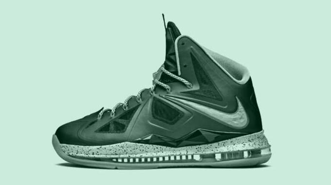 best service a91a6 60636 The Nike LeBron X has just started popping up in retailers around the  country, giving fans their first taste of the NBA Champ s newest signature  sneaker.